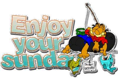 Sunday Garfield Relax