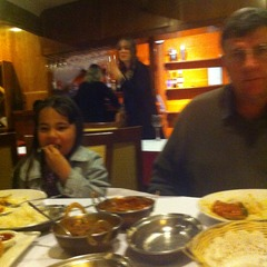 Dinner at PUNJ AAB - 30th August 2014