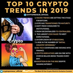 Top 10 Crypto Trends in 2019