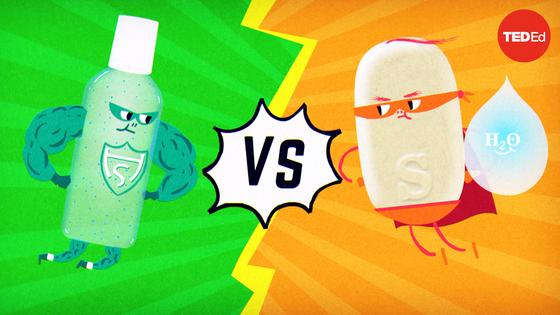 Alex Rosenthal and Pall Thordarson: Which is better: Soap or hand sanitizer?