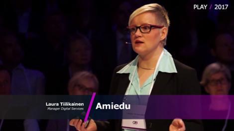 PLAY Helsinki - Laura Tiilikainen / Amiedu