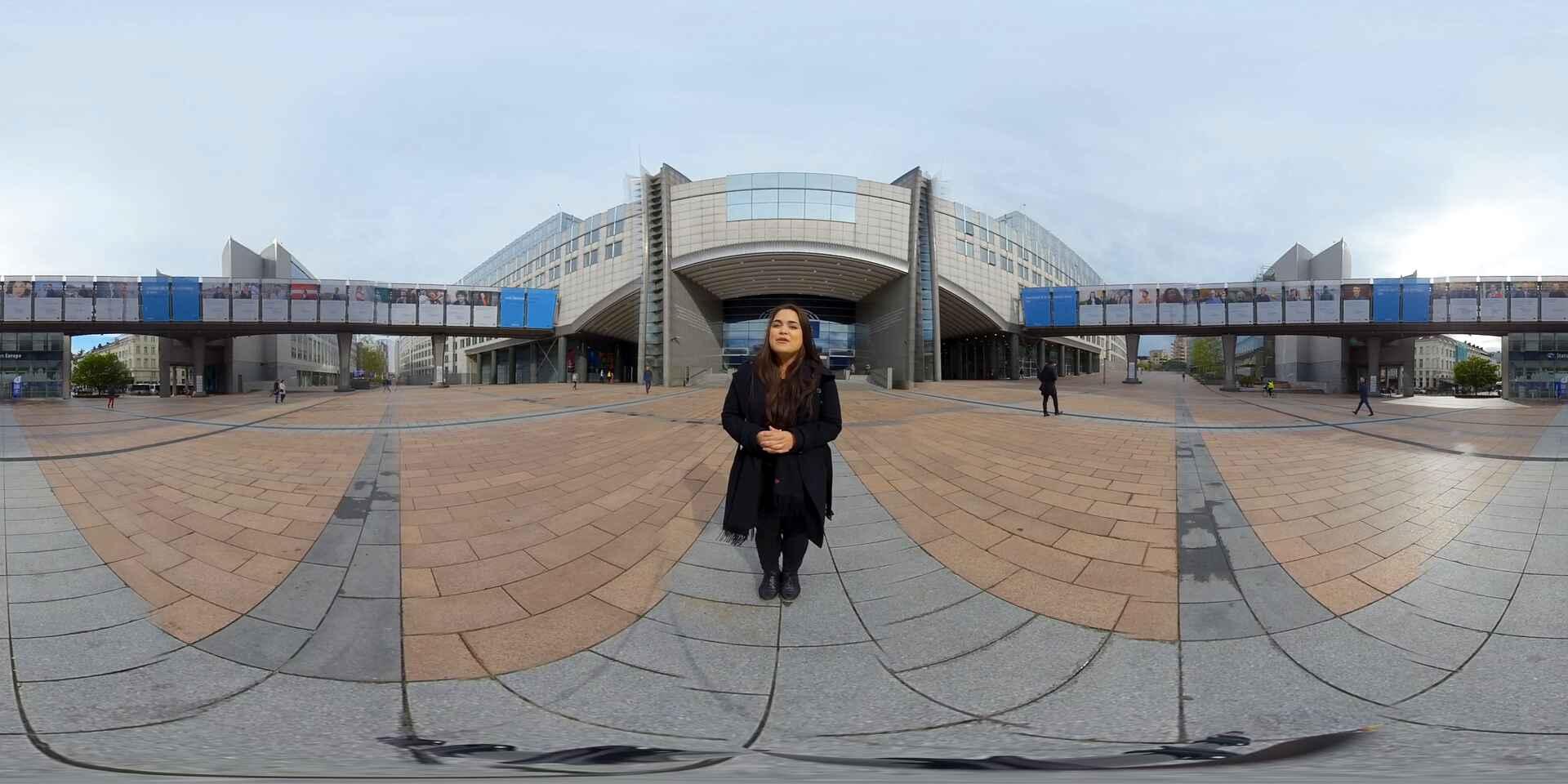 Take an interactive tour of the European Parliament